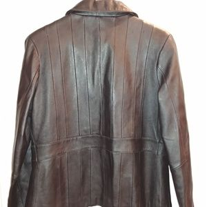 Oleg Cassini Jackets & Coats - Oleg Cassini 100% real leather jacket-